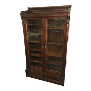 Victorian Bookcase Double Door