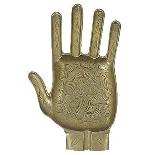 Engraved Hand Ashtray