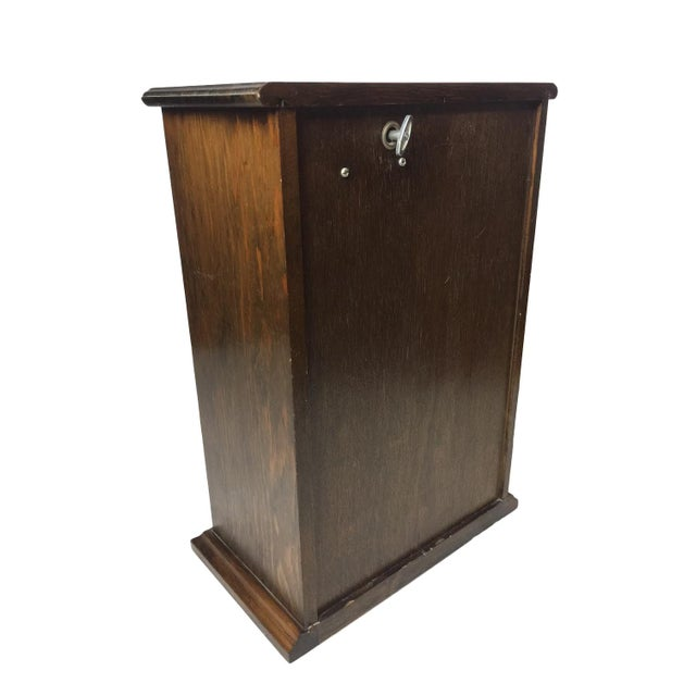 Image of Vintage Wooden Jewelry Music Chest