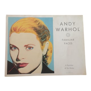 "Andy Warhol ""Familiar Faces"" Portfolio"