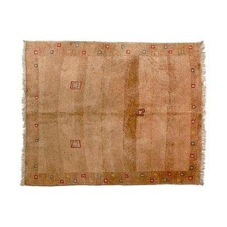 Persian Tribal Gabbeh Rug - 4' X 4'7""