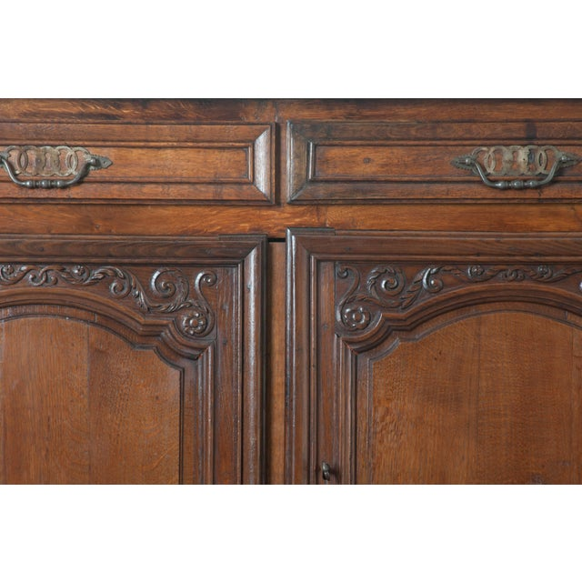 French 19th Century Oak Enfilade - Image 9 of 10