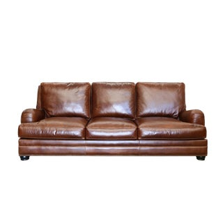 Eleanor Rigby Leather Trafalgar Sofa