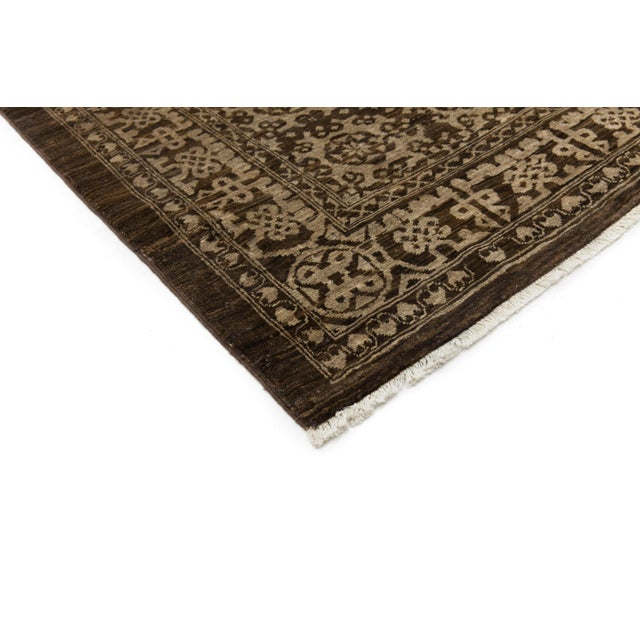 """Gabbeh Hand Knotted Area Rug - 7'9"""" X 9'6"""" - Image 3 of 4"""
