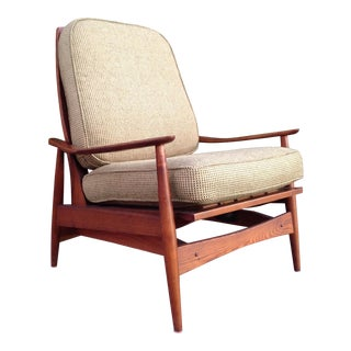 1960's American Walnut Lounge/Rocking Chair