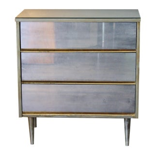 Mid-Century Mirrored Commode
