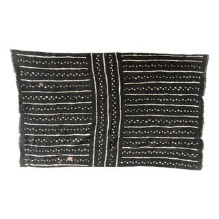 African Black Mudcloth Textile