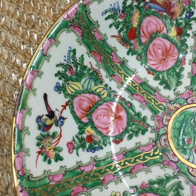 Vintage Japanese Hand Painted Floral Bowl - Image 6 of 6