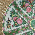 Image of Vintage Japanese Hand Painted Floral Bowl
