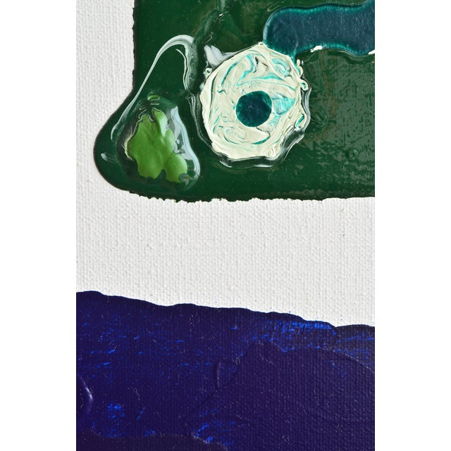 Image of Blue & Green Brushless #18 Painting