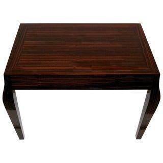 Holly Hunt Macassar Ebony Side Table