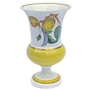 Vintage Porcelain Mottahedeh Fruit Vase