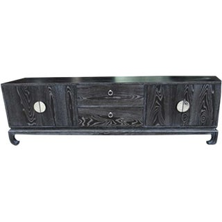 Chinese Ashwood Entertainment Console