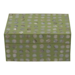 Celadon Shell Inlaid Box