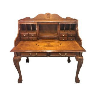 Brown Cherry Secretary Desk