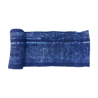 Bolt of Homespun Indigo Batik Fabrik