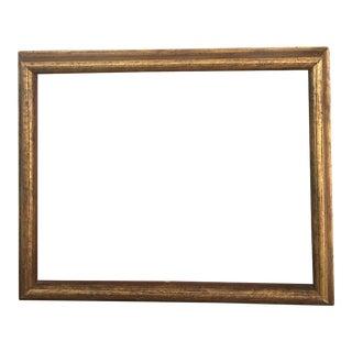 Vintage Gold Wooden Frame