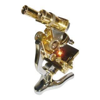 1933 E. Leitz Wetzlar Binocular Microscope