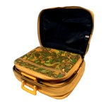 Image of Vintage Paisley Marigold Suitcases - Set of 3