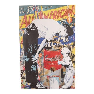 "Mr. Brainwash Original Pop Art Lithograph Print Poster ""Not Guilty"""