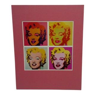 The 4 Faces of Marilyn Monroe Original Print