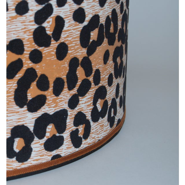 Vintage Cheetah Wallpaper Lampshade - Image 3 of 4
