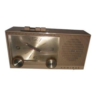 Art Deco 1950's Admiral Brand Clock Radio