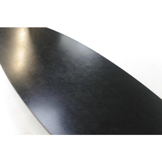 "Eames Elliptical ""Surfboard"" ETR Coffee Table - Image 10 of 11"