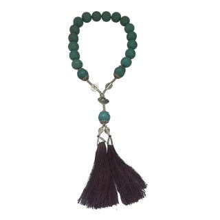 Chinese Howlite Turquoise Prayer Beads