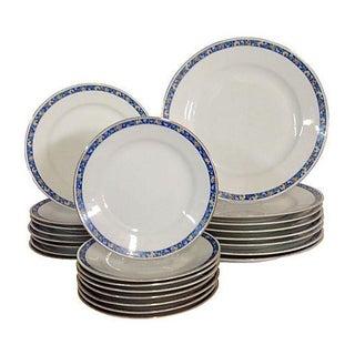 Japanese Blue & White Porcelain China - 24