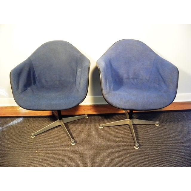 Herman Miller Mid-Century Shell Chairs - A Pair - Image 2 of 7