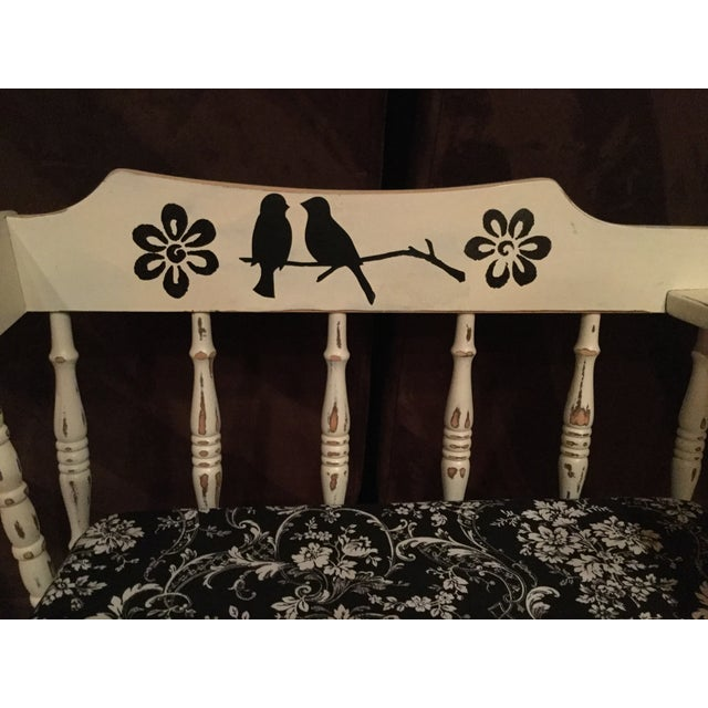 Vintage Phone Bench - Image 6 of 7