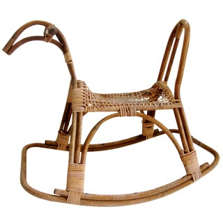Sculptural Danish Modern Rocking Horse