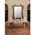 Image of 19th Century Monumental Tuscan Mirror