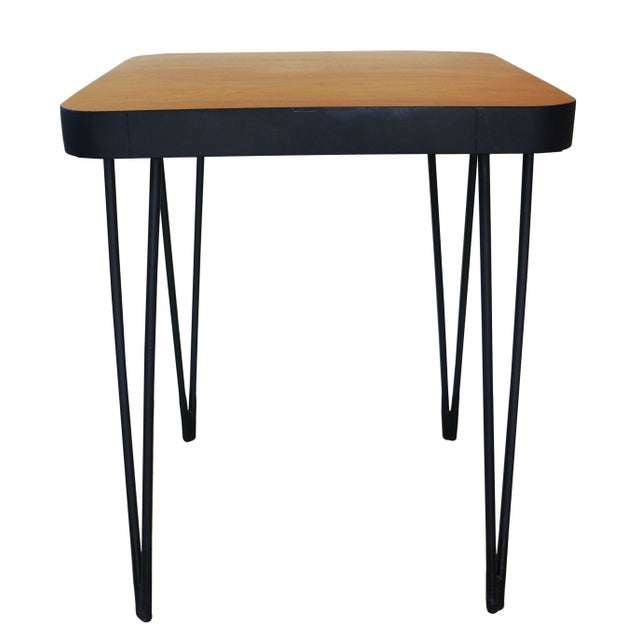 Mid-Century Hairpin Side Table - Image 2 of 4