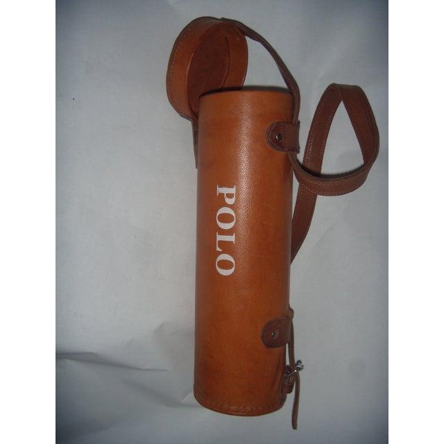 Leather Polo Balls Bag - Image 6 of 6