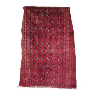 Vintage Bokhara Carpet Rug - 4′ × 6′2″