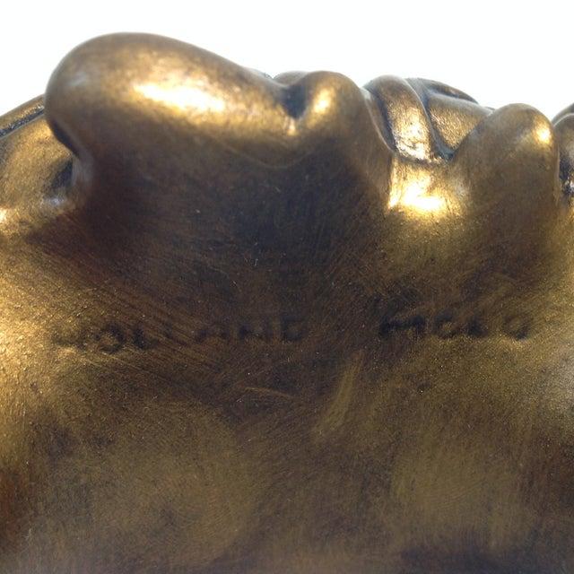 Cherub Ceramic Lanshire Mantle Clock Holland Mold - Image 8 of 10