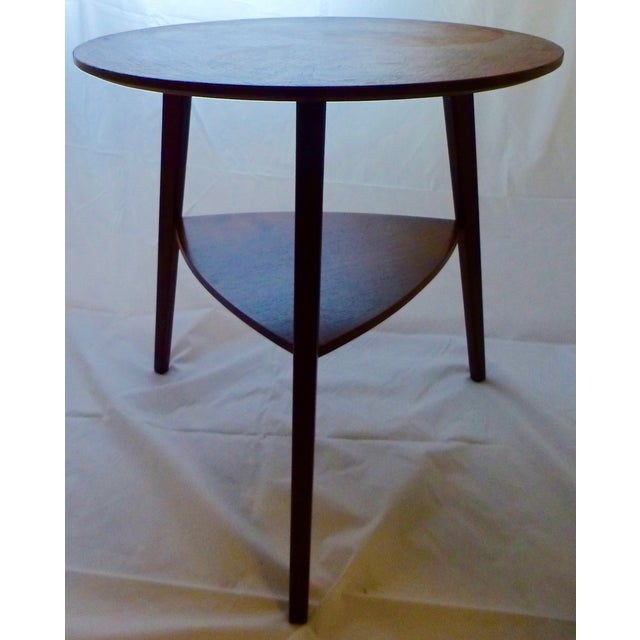 Image of Danish Modern Peter Hdivt Style Side Table