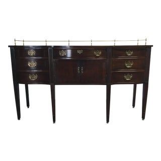 Thomasville Chippendale Bow Front Sideboard
