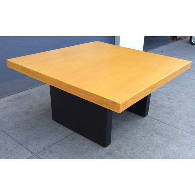 Image of Golden Oak Top Coffee Table