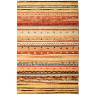 "Lori Hand Knotted Area Rug - 5'1"" X 7'6"""