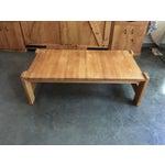 Image of Danish Modern Wooden Coffee Table