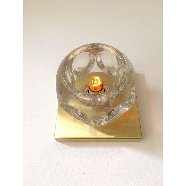 Sciolari Glass & Brass Sconce - Image 6 of 10