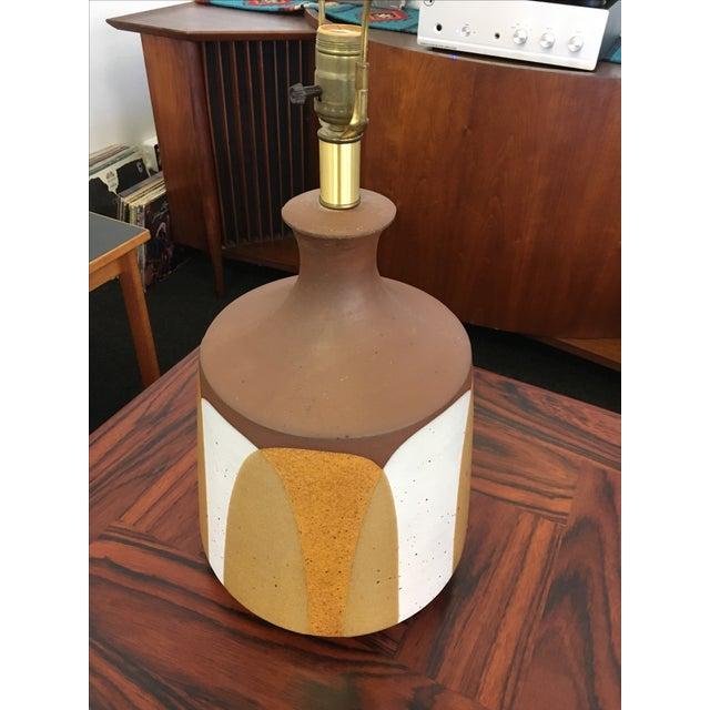 Ceramic Flame Series Lamp by David Cressey - Image 3 of 5