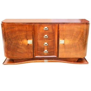 French Art Deco Grand Mahogany Buffet