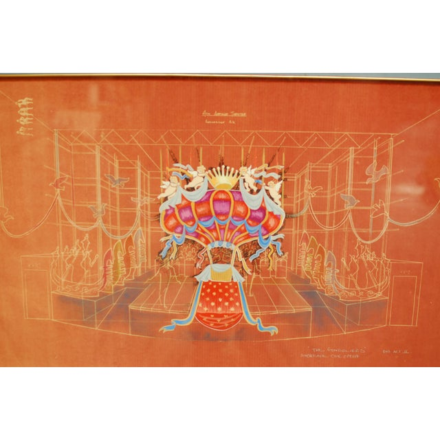 Image of The Gondoliers Opera Signed Print