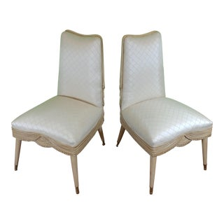 1930's French Side Chairs- A Pair
