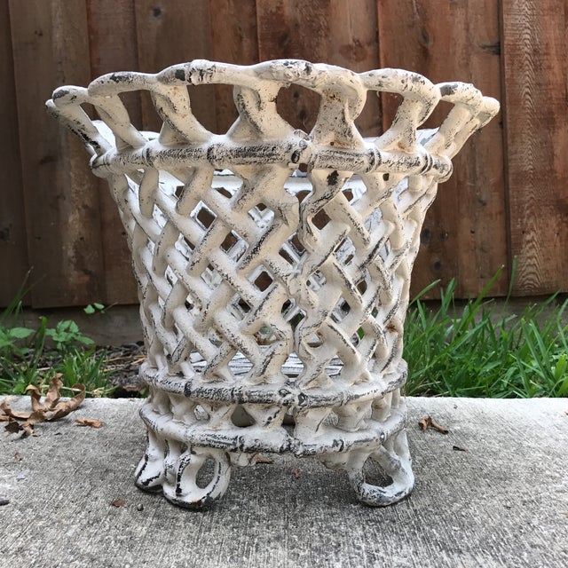 Cast Iron Plant Container - Image 3 of 6