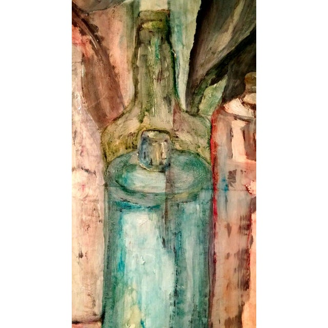 Mid-Century Still Life Oil Painting by Pat Sharp - Image 2 of 7
